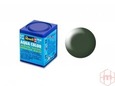 Revell - Aqua Color, Dark Green, Silk, 18ml, 363