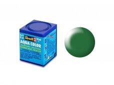 Revell - Aqua Color, Leaf Green, Silk, 18ml, 364
