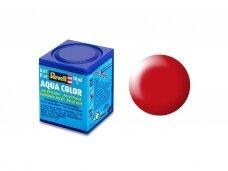 Revell - Aqua Color, Luminous Red, Silk, 18ml, 332