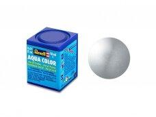 Revell - Aqua Color, Silver, Metallic, 18ml, 90