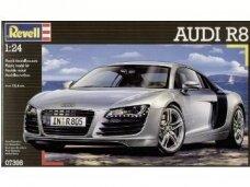 Revell - Audi R8, Mastelis: 1/24, 07398