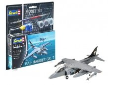 Revell - BAe Harrier GR. 7 Model Set, Scale: 1/144, 63887