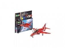 Revell - BAe Hawk T.1 Red Arrows Model Set, Scale: 1/72, 64921