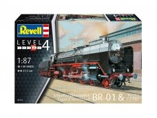 Revell - Express locomotive BR01 with tender 2'2' T32, 1/87, 02172