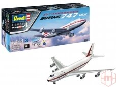 Revell - Boeing 747-100, 50th Anniversary Model Set, Mastelis: 1/144, 05686