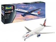 Revell - Boeing 767-300ER British Airways Chelsea Rose, 1/144, 03862