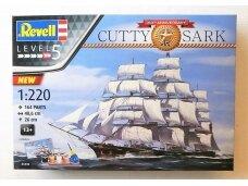 Revell - Cutty Sark 150th Anniversary dovanų komplektas, Mastelis: 1/220, 05430