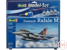 Revell - Dassault Rafale M dovanų komplektas, Mastelis: 1/72, 64892