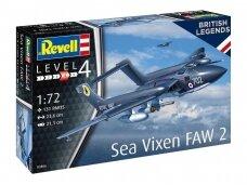 Revell - De Havilland Sea Vixen FAW 2 70th Anniversary, 1/72, 03866