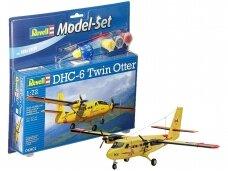 Revell - DHC-6 Twin Otter dovanų komplektas, Mastelis: 1/72, 64901