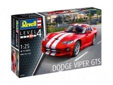 Revell - Dodge Viper GTS, Mastelis: 1/25, 07040