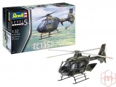 Revell - EC135 Heeresflieger/ Germ. Army Aviation, Mastelis: 1/32, 04982
