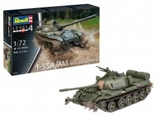 Revell - T-55A/AM with KMT-6/EMT-5, Mastelis: 1/72, 03328