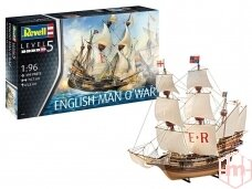 Revell - English Man O´War, Mastelis: 1/96, 05429