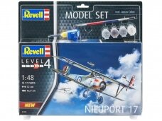 Revell - Nieuport 17 Model Set, 1/48, 63885
