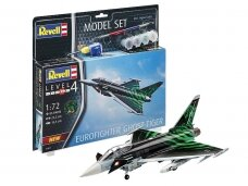 "Revell - Eurofighter ""Ghost Tiger"" Model Set, Scale: 1/72, 63884"