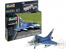 "Revell - Eurofighter ""Luftwaffe 2020 Quadriga"" Model Set, 1/72, 63843"
