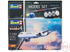 Revell - Airbus A321 Neo dovanų komplektas, 1/144, 64952