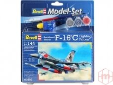 Revell -F-16C USAF dovanų komplektas, Mastelis: 1/144, 63992