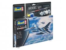 "Revell - F-16 Mlu""100th Anniversary"" Model Set, Scale: 1/72, 63905"