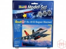 Revell -F/A-18E Super Hornet dovanų komplektas, Mastelis: 1/144, 63997