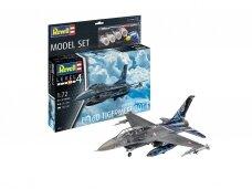 Revell - F-16D Tigermeet 2014 Model Set, 1/72, 63844