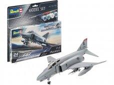 Revell - F-4E Phantom dovanų komplektas, Mastelis: 1/72, 63651