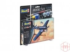 Revell - F4U-1B Corsair Royal Navy Model Set, Scale: 1/72, 63917