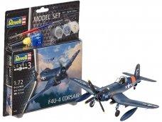 Revell - F4U-4 Corsair Model Set, Scale: 1/72, 63955