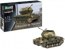 "Revell - Flakpanzer III""Ostwind"" (3,7 cm Flak 43), Mastelis: 1/72, 03286"