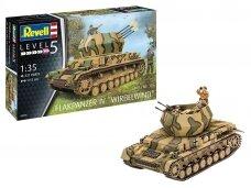Revell - Flakpanzer IV Wirbelwindi, Mastelis: 1/35, 03296
