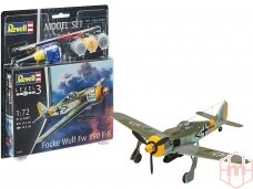 Revell - Focke Wulf Fw190 F-8 Model Set, 1/72, 63898