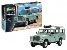 Revell - Land Rover Series III, Scale: 1/24, 07047