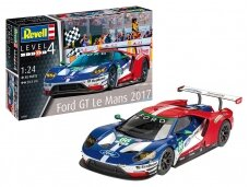 Revell - Ford GT Le Mans 2017, Mastelis: 1/24, 07041