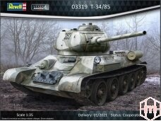 Revell - T-34/85, Scale: 1/35,03319