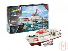 """Revell - Search & Rescue Vessel """"Hermann Marwede"""" Ltd Edition, 1/72, 05198"""