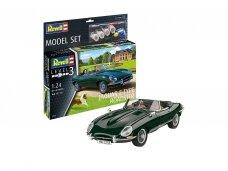 Revell - Jaguar E-Type Roadster Model Set, 1/24, 67687