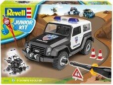 Revell - JUNIOR KIT Off-Road Police Car, 1/20, 00807