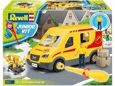 Revell - JUNIOR KIT Parcel service car, 1/20, 00814
