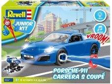 Revell - JUNIOR KIT Porsche Carrera car, 1/20, 00821