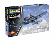 Revell - Junkers Ju 88 A-1 Battle of Britain, Mastelis: 1/72, 04972
