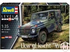 "Revell - Lkw gl leicht ""Wolf"", Scale: 1/35, 03277"