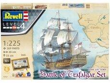 Revell - Mayflower - Battle of Trafalgar Gift set, 1/225, 05767