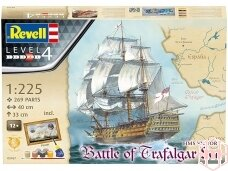 Revell - Mayflower - Battle of Trafalgar Dovanų komplektas, Mastelis: 1/225, 05767