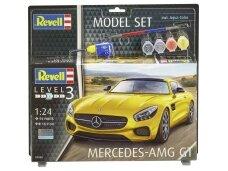 Revell - Mercedes-AMG GT dovanų komplektas, Mastelis: 1/24, 67028
