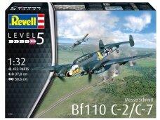 Revell - Messerschmitt Bf110 C-7, Mastelis: 1/32, 04961
