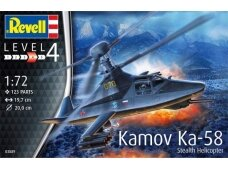 Revell - Kamov Ka-58 Stealth Helicopter, Scale: 1/72, 03889