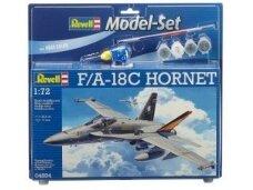 Revell - Model Set F/A-18C HORNET, Scale: 1/72, 64894
