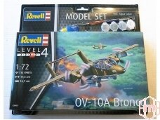 Revell - OV-10A Bronco dovanų komplektas, Mastelis: 1/72, 63909