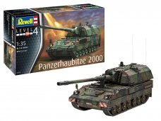 Revell - Panzerhaubitze 2000 with Lithuanian decals, 1/35, 03279, 35001